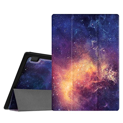 galaxy tab 3 70 huelle Fintie Lenovo Tab 10 / TAB2 A10-30 Hülle - Ultradünne Superleicht Schutzhülle Tasche mit Auto Sleep/Wake Funktion für Lenovo Tab 3 10 Plus/Tab 3 10 Business 10,1 Zoll Tablet, Die Galaxie