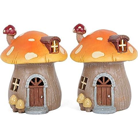 2 casette a forma di fungo in