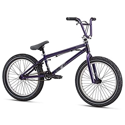 "Mongoose Legion L40 20"" Wheel Freestyler Gyro BMX U-Brake Bike Purple by Mongoose"