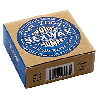 Sex Wax Surf Wax Quick Humps blue Extra Hard