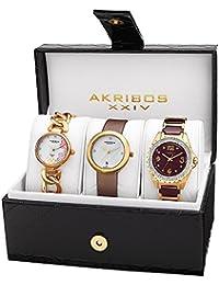 Akribos XXIV Reloj con movimiento cuarzo suizo Woman AK887YG