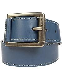 Velez 1017682 Genuine Leather Belt for Men Correa Cinturones Cuero de  Hombre Blue 42 6d040681af08f