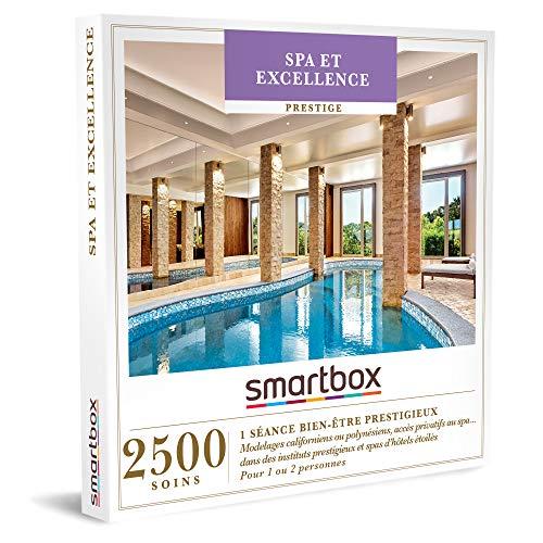SMARTBOX - Coffret Cadeau Noël Femme - Idée cadeau original femme : Séance bien-être prestigieux dans les meilleurs spa