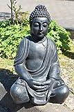Riesige Deko Asien Garten BUDDHA Figur Statue Skulptur FENG SHUI 51cm