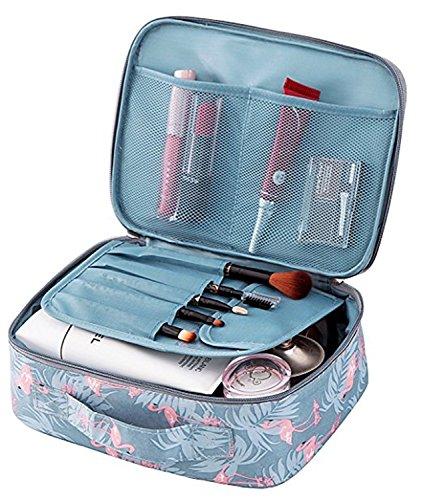 Tpocean Damen bzw. Mädchen Make-up-Tasche, Kulturbeutel, Wasch-, Kosmetiktasche für zum Beispiel Make-up Pinsel, ideal für Reisen geeignet