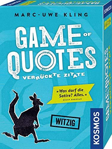 KOSMOS 692926 - Game of Quotes