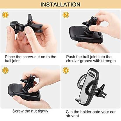 Handyhalter-frs-Auto-Handyhalterung-Auto-Smartphone-Halterung-KFZ-Handy-Halter-fr-Auto-KFZ-Handy-Halterung-fr-iPhone-Samsung-HTCLGHuaWei-und-jedes-andere-Smartphone-oder-GPS-Gert-Autozubehr