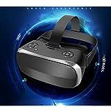 Mit Augenschutz VR-Kopfhörer 3D-Brille 360 HD-Anzeige Immersiv Virtuelle Realität Helm Videospiel-Controller Geeignet Für Iphone 7 6 6S Plus, LG G4, Nokia, Xperia, Moto,PS4 Computer W-Lan HDMI Helm,Black