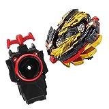 perfeclan Juguete de Peonza de Batalla con Lanzador Lucha Maestro de Rapidez - Lost LONGINUS N.SP Gold Dragon Ver B-00