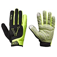 VMFTS Warm Work Gloves Touch Screen Fleece Lined Excellent Grip Non-slip Pading Palm Mens Winter Cycling Gloves for Cold Weather Driving Climbing Hunting Fishing Hiking Medium Green
