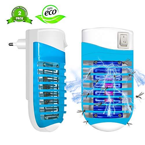 FishOaky Lampe Anti Moustique Electrique UV Tue Mouche...