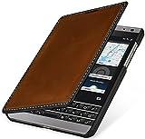 StilGut Book Type Case, Hülle aus Leder für BlackBerry