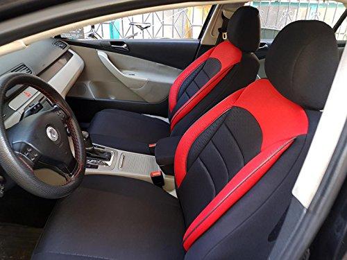Sitzbezüge k-maniac   Universal schwarz-rot   Autositzbezüge Set Vordersitze   Autozubehör Innenraum   Auto Zubehör für Frauen und Männer   V936238   Kfz Tuning   Sitzbezug   Sitzschoner