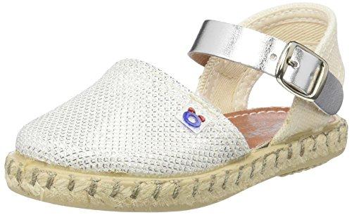 Conguitos  HVS14502, Chaussures souples pour bébé (fille) blanc Blanc