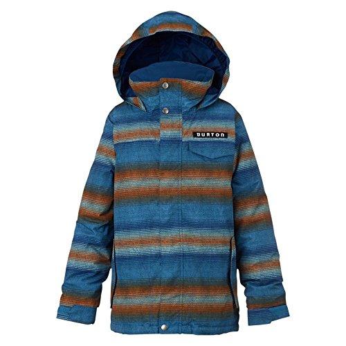 Giacca ragazzi Burton giacca da snowboard AMPED, Ragazzo, Snowboardjacke AMPED JACKET, Glacier Beach Stripe, (Giacca Ragazzi Sistema)