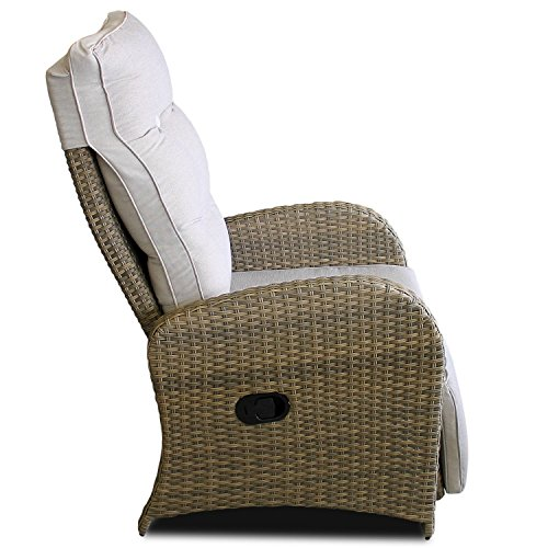 Poly Rattan Relaxsessel - 2