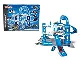 Majorette 212053741 - Parkgarage Urban Garage Aral mit 1 Auto, 66 x 73 x 45 cm