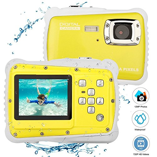 12MP 2 Zoll LCD Display Kinder HD Digitalkamera Unterwasser 3 Mt Wasserdichte Action Kamera Camcorder