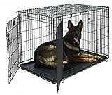Bild: Midwest Homes for Pets MidWest Life Stages Zusammenklappbare Hundebox mit zwei Türen 12192x762x8382cm