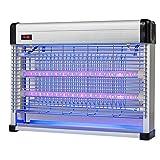SUNYAN Trappola Per Killer Ad Assorbimento Elettrico - Repellente Per Zanzare LED Interno Senza Radiazioni Per Campeggio E Casa 12W,Silver-39 * 8.5 * 29.5cm