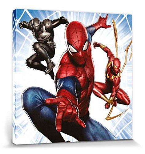 1art1® Spider-Man - Trio Cuadro