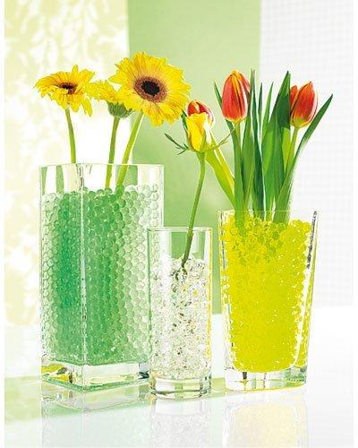5er Pack, Blumen, Bewässerungskugeln, Perlen, Nährstoff