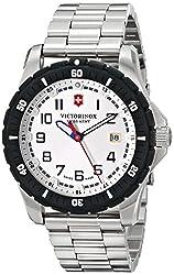 Victorinox Maverick Analogue Silver Dial Men's Watch - 241677