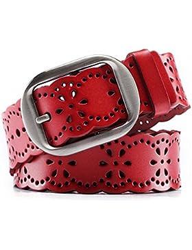 Cinturón De Hebilla De Aguja Hueca/Cinturón Multiuso De Ocio/Correa De La Manera Del