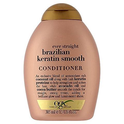 Organix Brazilian Keratin Conditioner - 385 ml