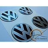 Lot de 4 cache-moyeux VW 50mm