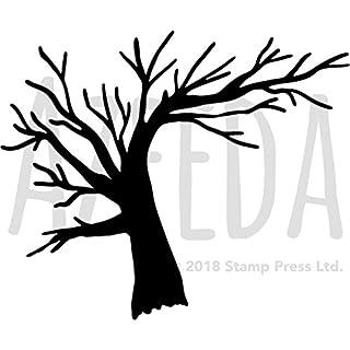 Azeeda A5 'Winter Tree' Wall Stencil / Template (WS00029016)