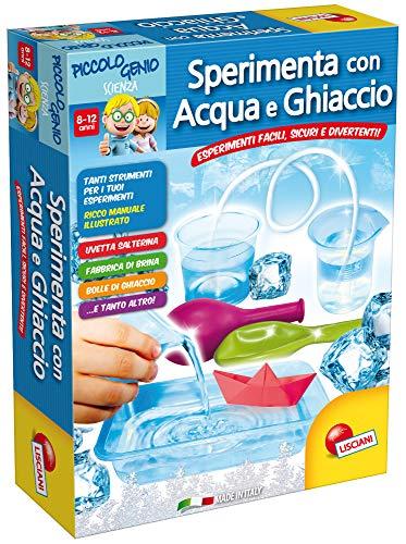 Lisciani giochi piccolo genio scienza sperimenta con acqua e ghiaccio, 53704