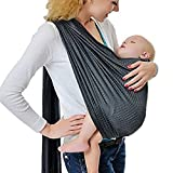 KängarooBaby Breathable Babytrage mit Polyester und schnell trocken Gewebe-Material Indoor Outdoor Travel Cotton Komfort Sicherheit neugeborenes Kind-Kind-Baby-Riemen-Fördermaschine (grey)