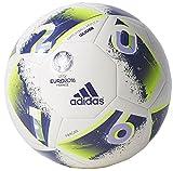 Adidas Euro16 Glider Pallone da Calcio, Bianco...