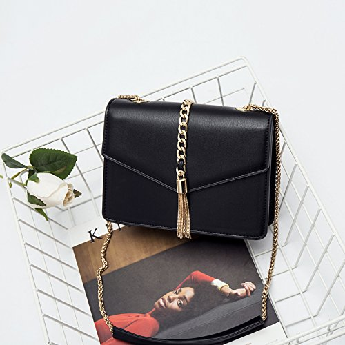Umhängetaschen neue modische Handtasche Satchel Bag Kette kleine einfache All-Match Single Schulter Tasche Tasche a