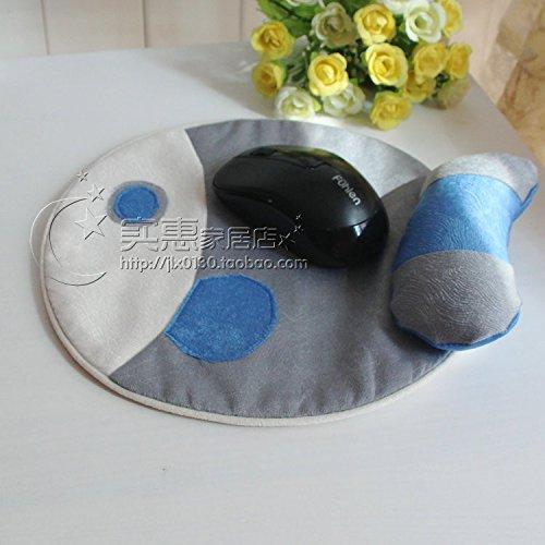 YQOOO Illustration Runde Untersetzer Mauspad Lagerung Isolierung Dekorative Matte (Runde Lagerung Leder)