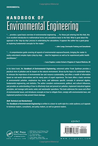 Handbook of Environmental Engineering (Applied Ecology and Environmental Management)
