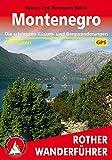Montenegro: Die schönsten Küsten- und Bergwanderungen (Rother Wanderführer)