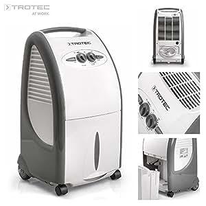 Trotec TTK 75 S - Deumidificatore max. 24 litri al giorno, dimensioni max. della stanza 48 m²