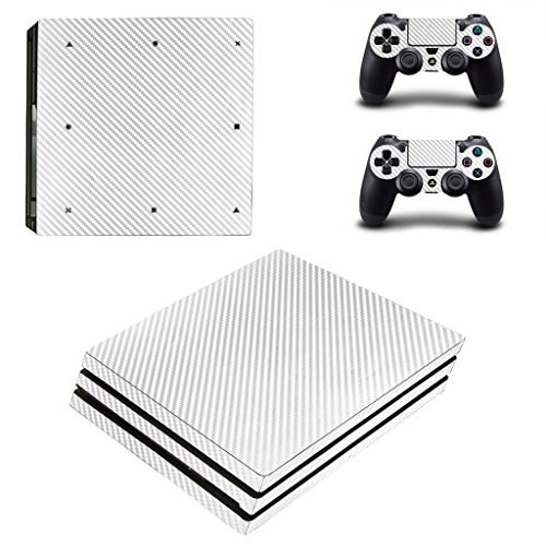 Hytech Plus Sticker for PS4 Pro Console and 2 Controllers