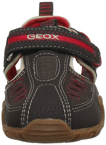 Geox  B SAND.KRAZE J, sandales garçon Marron - Braun (COFFEE/RED)