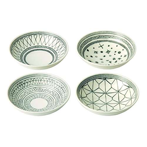 Royal Doulton Teller 16 cm 4 PC Set, anthrazit, 4 Stück Royal Doulton Line