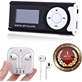 Elevea Digital MP3 Player With LCD Screen And TF Card Support With Earpod Compatible With Xiaomi, Lenovo, Apple, Samsung, Sony, Oppo, Gionee, Vivo-Assorted Colour (1 Year Warranty)