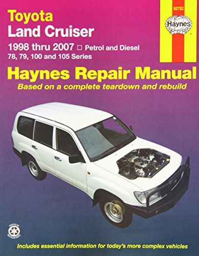 Toyota Landcruiser 2005-07: 2005 to 2007 (Haynes Service and Repair Manu)
