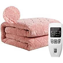 Couverture chauffante en peluche, double control, couverture chauffante,  couverture chauffante, double couche 9081e39aee8