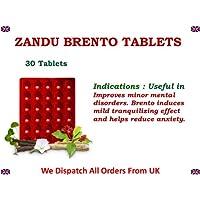Zandu Brento 1 Blister of 30 Tablets General Mental Debility Cognitive Dysfunction Decreased Vigilance Lack of... preisvergleich bei billige-tabletten.eu
