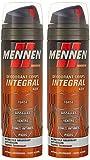 MENNEN - Déodorant Homme Corps Intégral 48H Micro-Talc Parfum Energisant Sans Alcool - 200 ml - Lot de 2