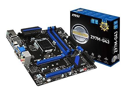 Z97 Micro Atx - MSI Z97M-G43 Carte mère Intel Micro ATX