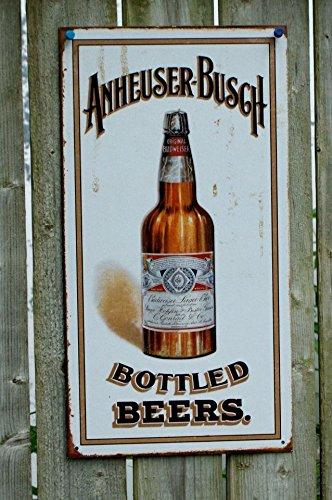 anheuser-busch-bottled-beers-cartel-de-chapa-estados-unidos-nuevo-s1869