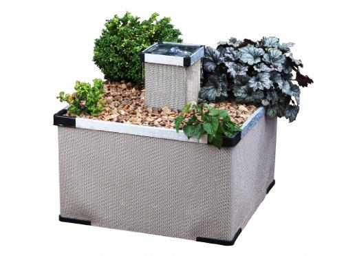 Blagdon alluminio e Textilene Liberty Caratteristica Giardino / Giardino / piantatrice del fiore in sabbia Fine